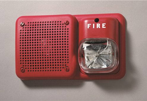 Smoke Detector and fire alrm wall unit